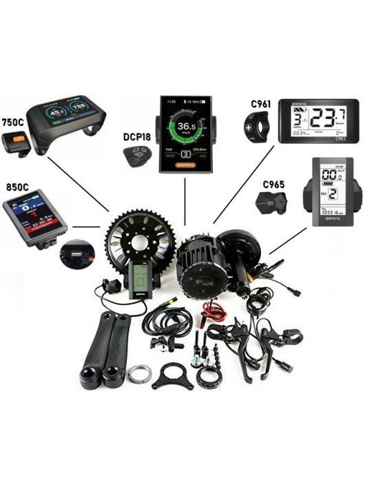 BAFANG BBS03/HD -1000W 48/52V középmotoros hajtás