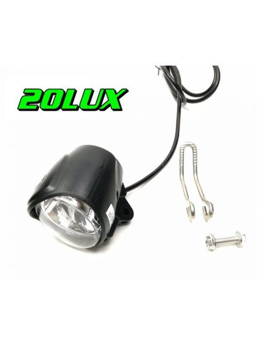 LED 3W/6-60V első világítás + KÜRT