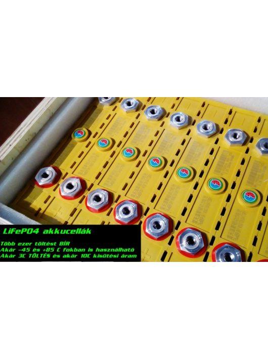24V 100Ah Winston AKKUPAKK + 20A töltő + 123SmartBMS akkufigyelés -KOMPLETT-